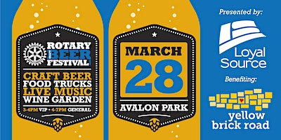 3rd Annual Rotary Craft Beer Festival