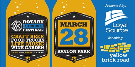 3rd Annual Rotary Craft Beer Festival tickets