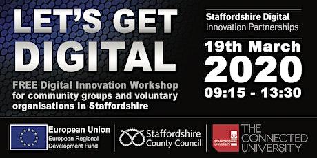 Let's Get Digital - FREE Digital Innovation Workshop tickets
