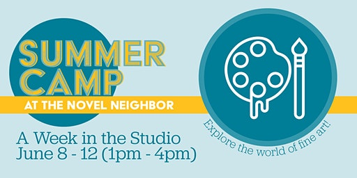 Half Day Summer Camp: A Week In The Studio