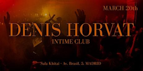 CHAPTER #8: Denis Horvat entradas