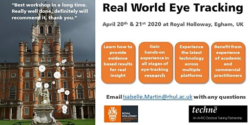 Real World Eye Tracking course 2020