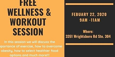 Free Wellness &Workout Session