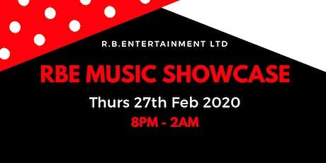 RBE Music Showcase 35 tickets