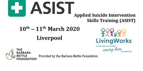 Applied Suicide Intervention Skills Training (ASIST) 2 day course tickets