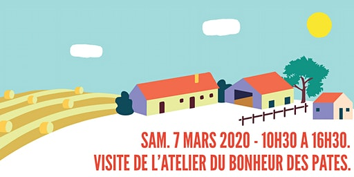 Animation/découverte - Atelier du Bonheur de pâtes - La Ruche qui dit Oui!