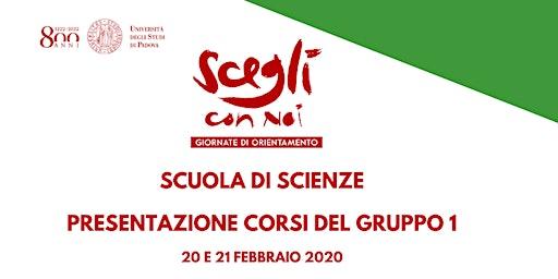 SCEGLI CON NOI - SCIENZE - Gruppo 1