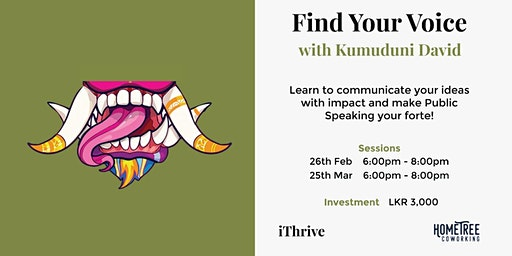 Find your Voice with Kumuduni David