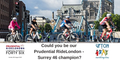 Could you be our Prudential RideLondon - Surrey 46 champion? tickets