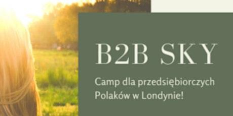 Spotkanie Biznesowe Na Campingu W Londynie.  tickets
