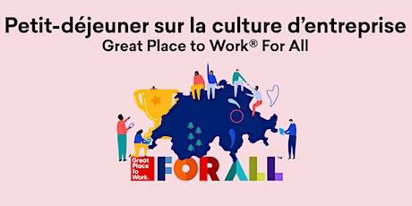 Petit-déjeuner Nouveau Modèle Great Place to Work® FOR ALL Tickets