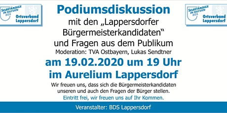 Podiumsdiskussion Tickets