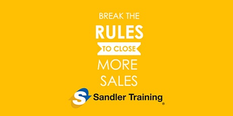 Break the Rules and Close More Sales tickets