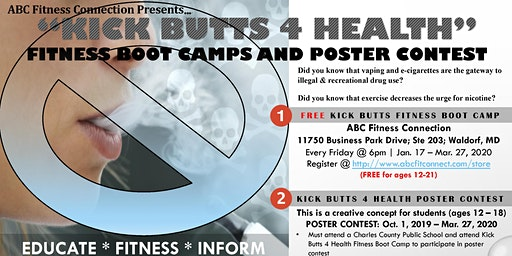 """Kick Butts 4 Health"" Presentation & Boot Camp"