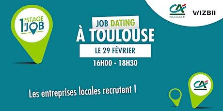 Job Dating Toulouse : décrochez un emploi dans votre région ! billets