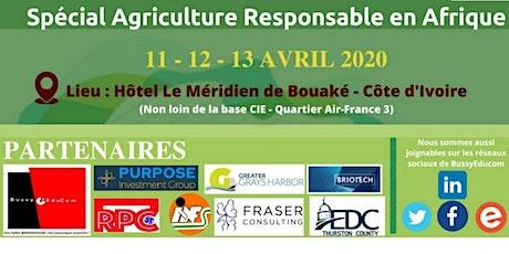Forum: Quel avenir pour l'Agro-Tourisme en Afrique billets