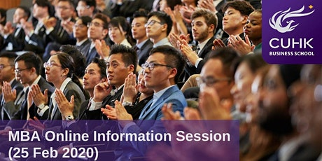 CUHK MBA Online Information Session (Hong Kong) tickets