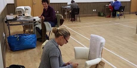 Sue Macnab's Coupar Angus Afternoon Upholstery Classes  tickets