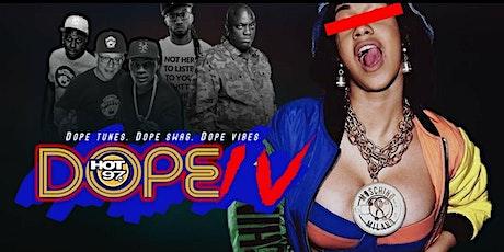 Unapologetic x Hot 97 DOPE IV   90s versus 2000s Retro affair tickets