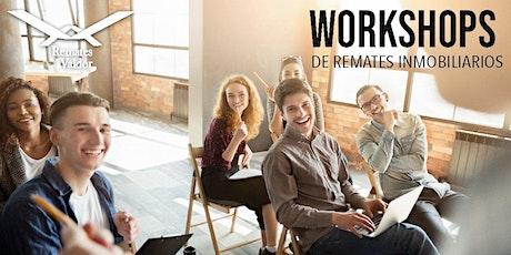 Workshop Febrero de Remates Inmobiliarios boletos
