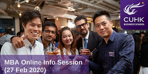 CUHK MBA Online Information Session (China)