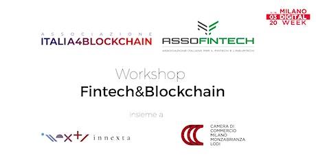 Fintech e Blockchain: Workshop introduttivo biglietti