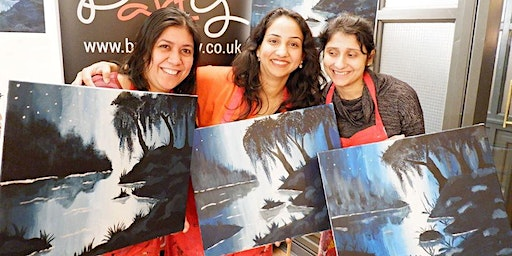 Moody Blues Brush Party - Shefford
