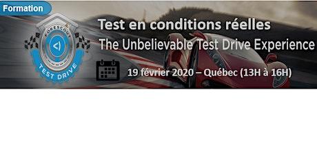 ProContact Test Drive Expérience billets