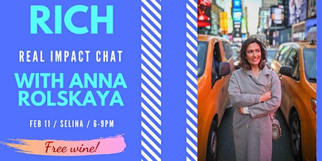 RICH: Real Impact Chat with Anna Rolskaya tickets