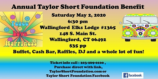 Peace, Love, and Happiness - Taylor Short Foundation Benefit