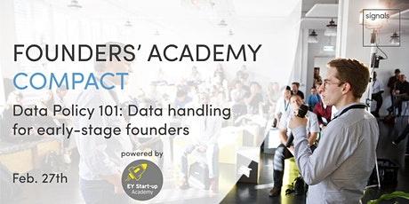 signals Founders' Academy Compact: Data Policy 101 tickets