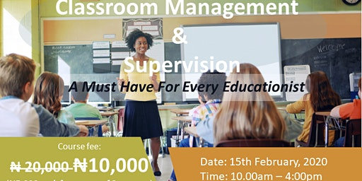Professional Training on Classroom Management & Supervision