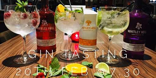 Gin tasting night with Whitley Neill