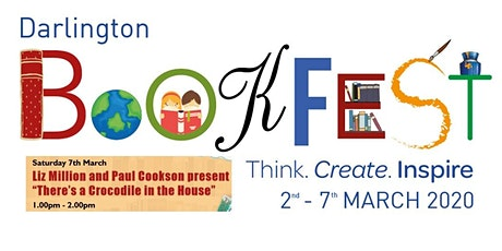 Darlington Bookfest 2020   Liz Million and Paul Cookson tickets