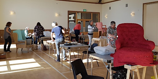 Sue Macnab's Madderty Morning Upholstery Class