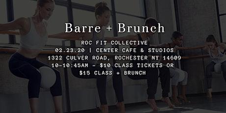 Barre + Brunch tickets