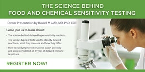 The Science Behind Food and Chemical Sensitivity...