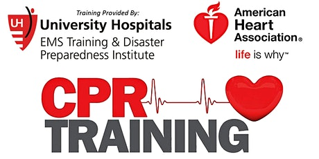 FREE Community CPR Training | UH Ahuja | 2020 Schedule tickets