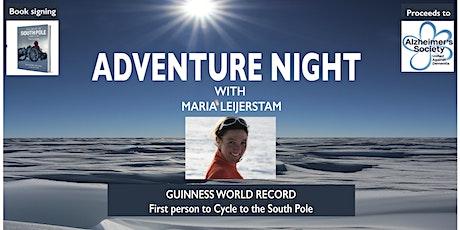 Adventure Night with Maria Leijerstam tickets