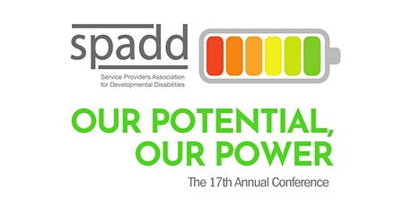 SPADD's 17th Annual Conference: Our Potential, Our Power tickets