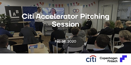Citi Accelerator Pitching Session tickets