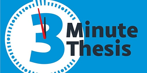 3 Minute Thesis Final 2020