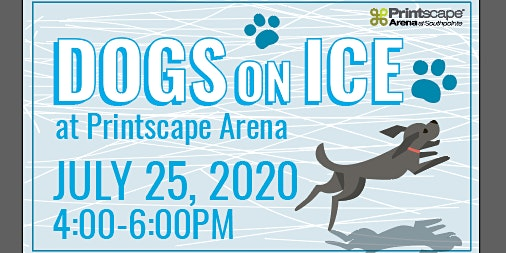 Dogs on Ice at Printscape Arena