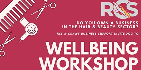 Wellbeing for Managers & Self-Employed Workers in the Hair & Beauty Sector tickets