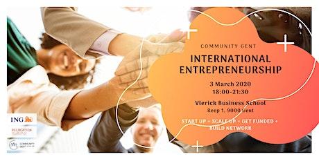 International Entrepreneurship tickets