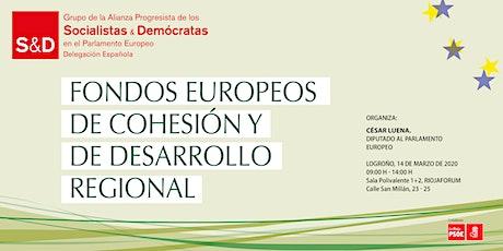 Fondos europeos de cohesión y de desarrollo regional entradas