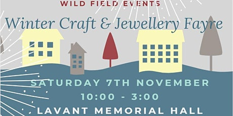 Winter Craft & Jewellery Fayre tickets