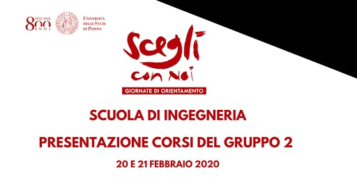 SCEGLI CON NOI - INGEGNERIA - Gruppo 2