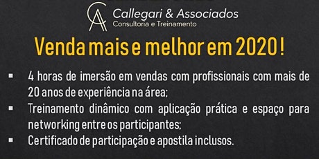 I Workshop de Vendas - Método PER ingressos