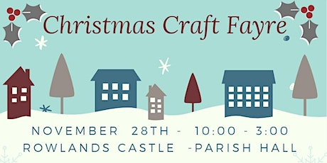 Christmas Craft Fayre tickets